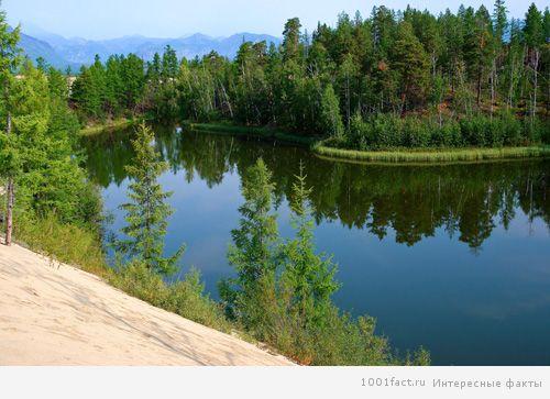 озеро Аленка