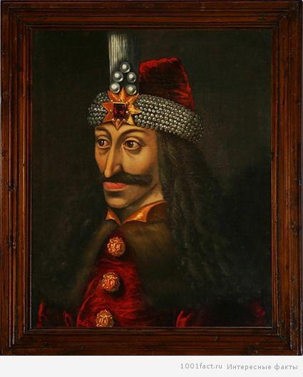 портрет Дракулы
