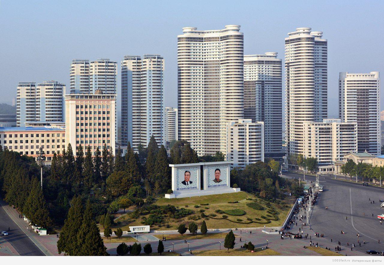 улицы Сев.Корея