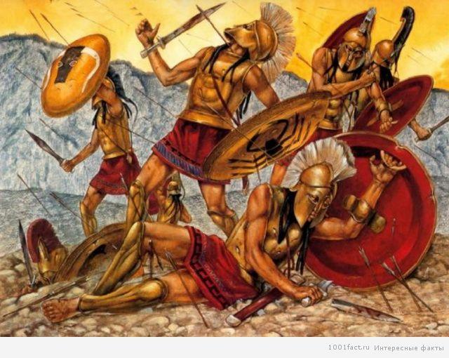 обучение спартанцев