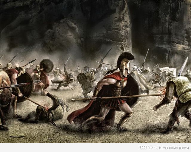 великие спартанцы